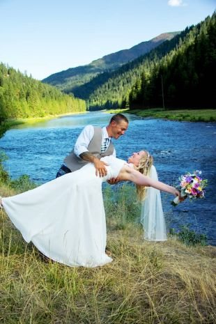 River Dance Lodge Invites You To Host The Celebration Of Your Marriage On Banks Middle Fork Clearwater And Near Million Acre